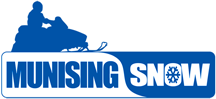 Munising Snow – Home of Pictured Rocks National Lakeshore Logo